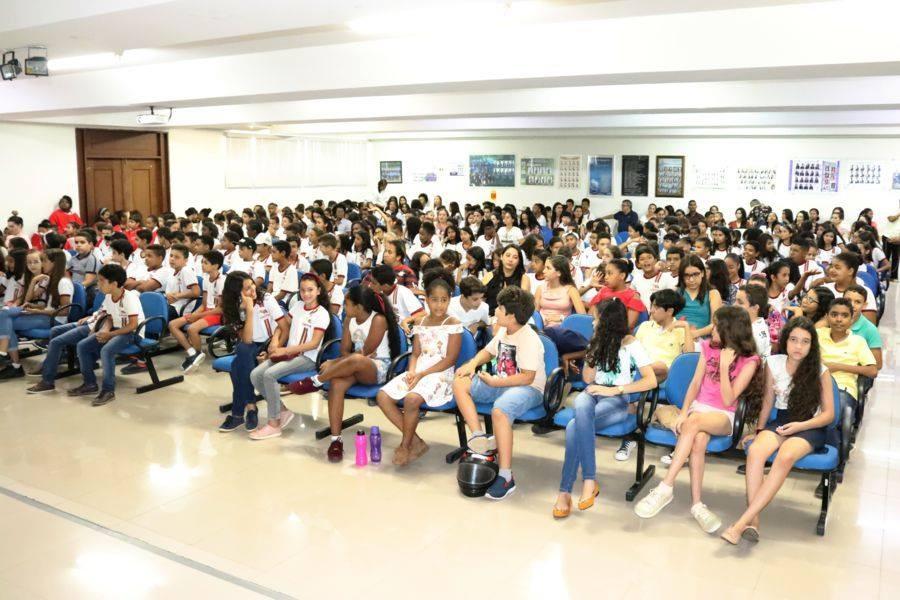 Cerimônia marca a formatura de 400 alunos do Proerd em Caetité