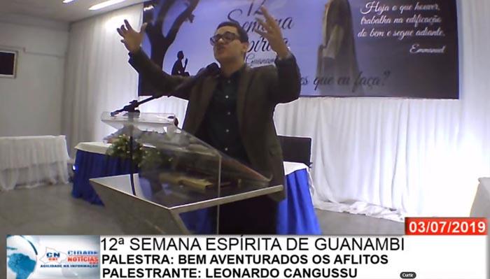 12ª Semana Espírita de Guanambi – Palestrante Leonardo Cangussu